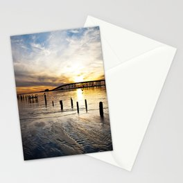 Biloxi Bay Sunset Stationery Cards