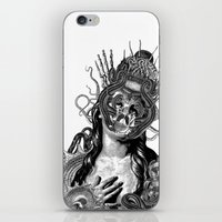 passion iPhone & iPod Skins featuring Passion by DIVIDUS DESIGN STUDIO