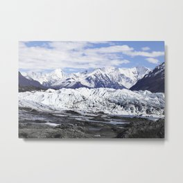 Matanusk Glacier Alaska Metal Print