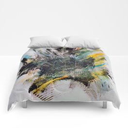 Woarrr - Paint splash Comforters
