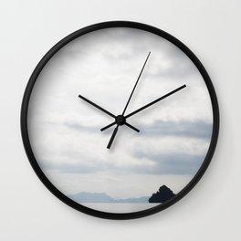 Phang-nga National Park Islands Wall Clock