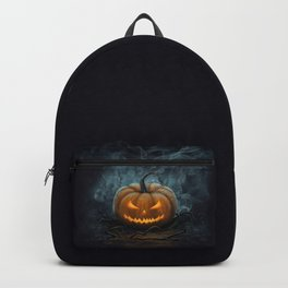 Halloween Pumpkin Backpack