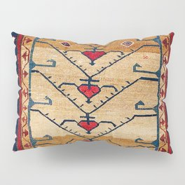 Azerbaijani Northwest Persian Carpet Print Pillow Sham