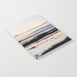 Sunset in Iceland - nature landscape Notebook