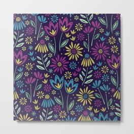 Bloomig Botanicals Metal Print