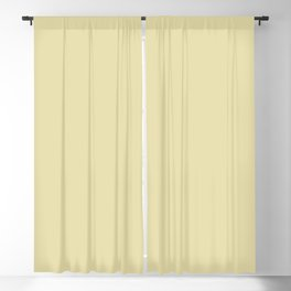 Banana Cream Yellow Solid Color Pairs To Benjamin Moore Beacon Hill Damask HC-2 Blackout Curtain
