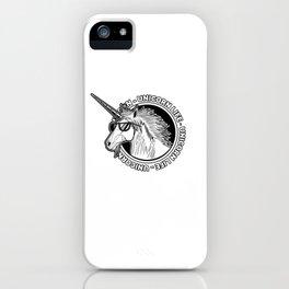 Unicorn Life iPhone Case