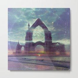 Crystal Visions - America As Vintage Album Art Metal Print