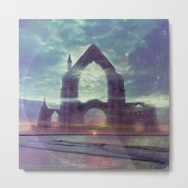 Crystal Visions - America As Vintage Album Art Metal Print
