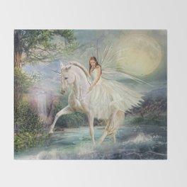 Unicorn Magic Throw Blanket
