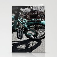 bike Stationery Cards featuring bike by gzm_guvenc