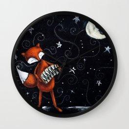 Moon Songs Wall Clock