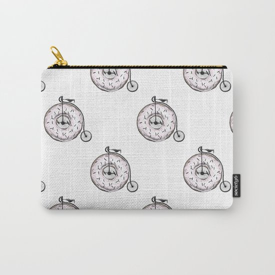 Donut Ride My Bicycle Carry-All Pouch