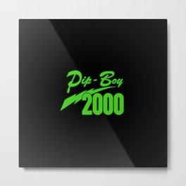 Pip Boy 2000 Metal Print
