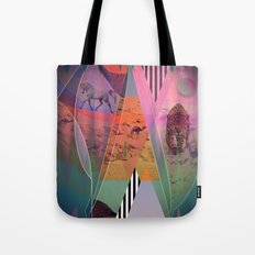 DISTORTED BOUNDARIES Tote Bag