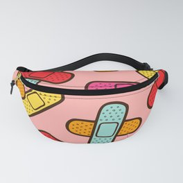 Rainbow Band-Aids Fanny Pack