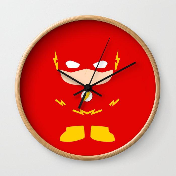 Flash! Wall Clock
