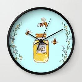 Honey Jar is Nectar Wall Clock