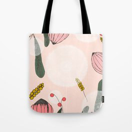 Blushing Blooms Tote Bag