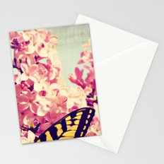 Lilac Monarch Stationery Cards