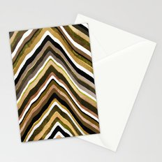 Green/Yellow/Brown Slice Stationery Cards