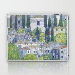 Gustav Klimt Church in Cassone Laptop & iPad Skin