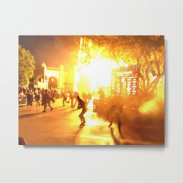 The Zombie Apocalypse  Metal Print