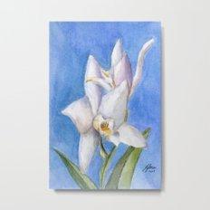 Vivid Orchid Metal Print