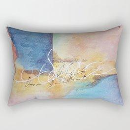 Unfathomable Rectangular Pillow