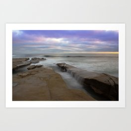 La Jolla San Diego CA Version 2 Art Print