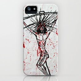 Stain on Humanity's Conscience iPhone Case