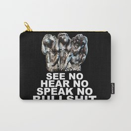 NO BULLSHIT Carry-All Pouch