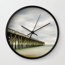 Pawleys Island Pier II Wall Clock