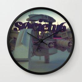 Society6 SAFE TRANSPORT Wall Clock