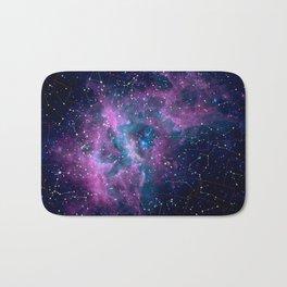 Pink nebula Bath Mat