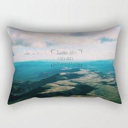 Lets Go On an Adventure Rectangular Pillow