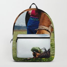 horse by Hanson Lu Backpack