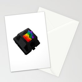 Clack the Rainbow Stationery Cards