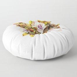 Fallen Petals Floor Pillow