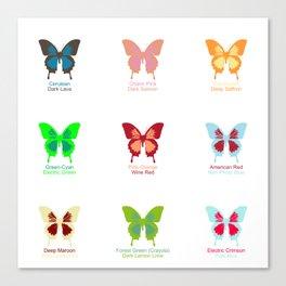 Butterflies 9 Canvas Print
