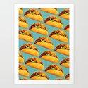 Taco Pattern by kellygilleran