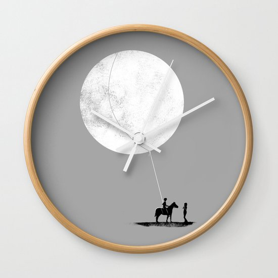 do you want the moon? Wall Clock