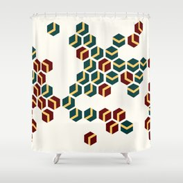 Turning Shower Curtain
