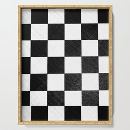 Dirty checkers Serving Tray
