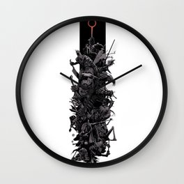 Dark Souls Bosses Wall Clock