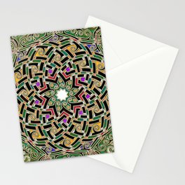 Celtic mandala Stationery Cards