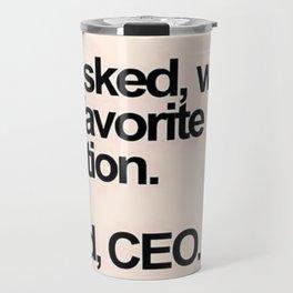 CEO Travel Mug