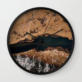 Don't be Afraid of Heights Wall Clock