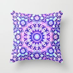 Fez Moroccan Tiles {4C} Throw Pillow