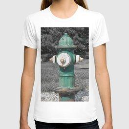 Mueller Super Centurion Green Bonnet and Barrel with White Caps T-shirt